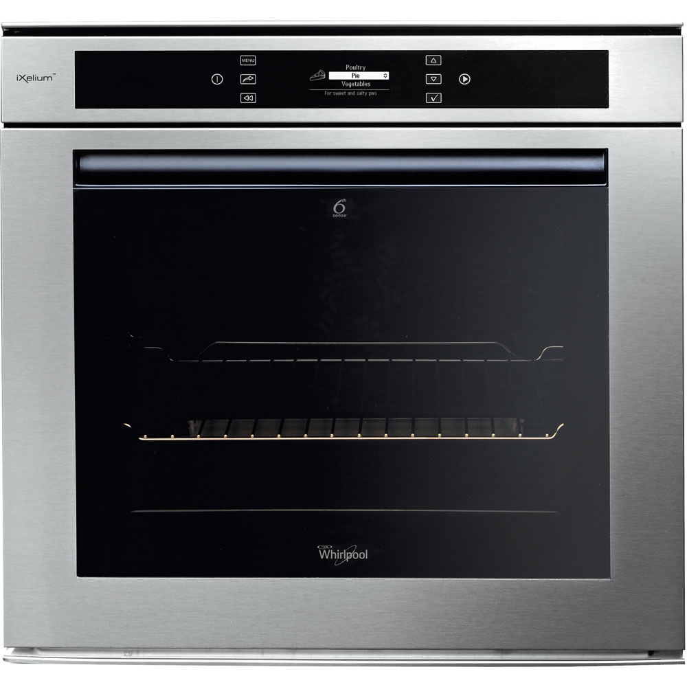 Whirlpool built -in electric oven: inox colour - AKZM 6560/IXL