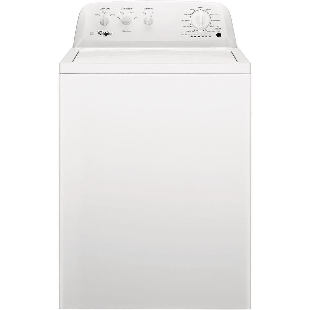 whirlpool washing machine instructions for use