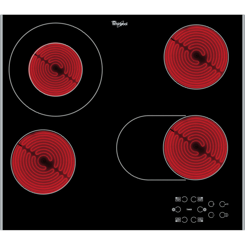 60cm Electric Glass Hob AKT 8210 LX