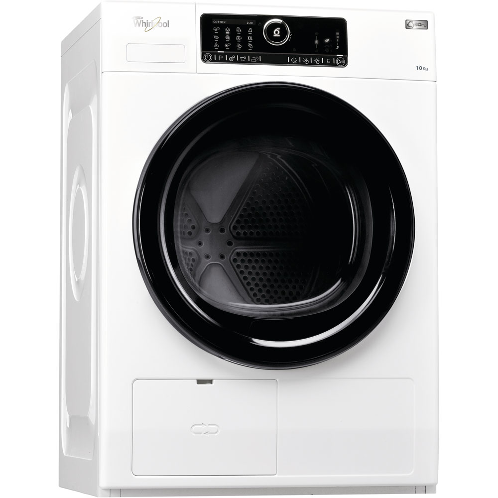 Whirlpool heat pump tumble dryer: freestanding, 10kg - HSCX 10431