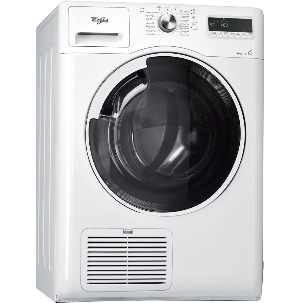 Whirlpool tumble dryer: freestanding, 9kg - AZB 9100 WH