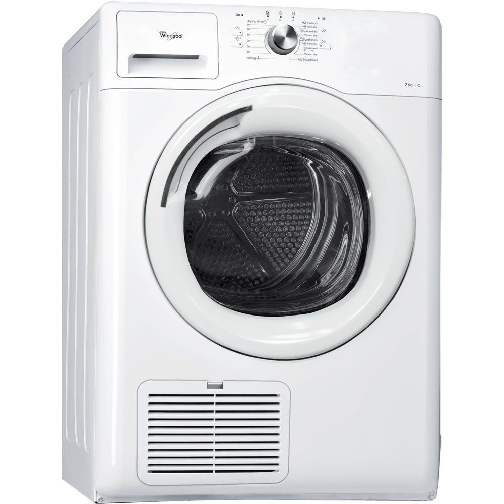 Whirlpool tumble dryer: freestanding, 7kg - AWZ 7100 WH