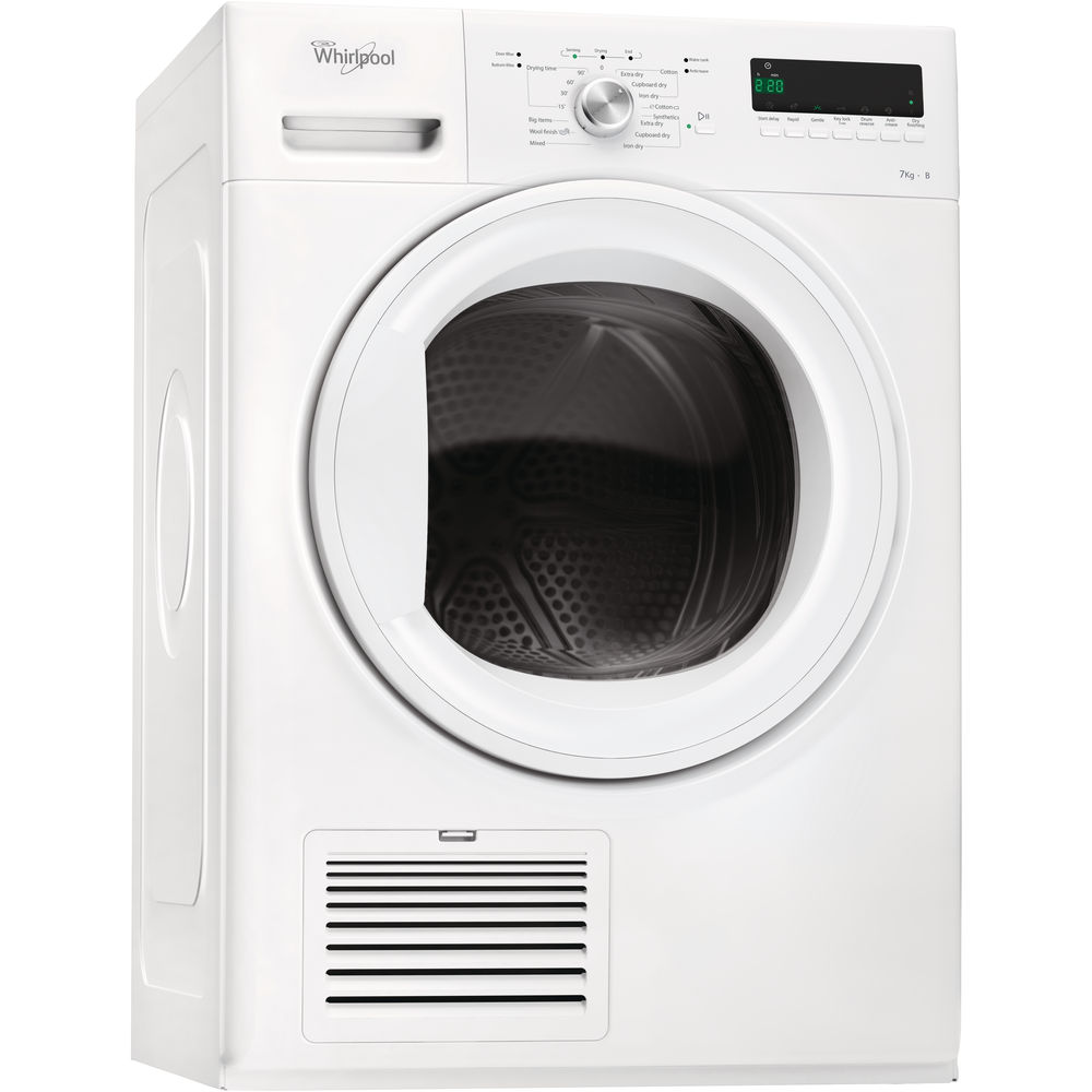 Whirlpool Ireland Welcome To Your Home Appliances Provider Rapid Electric Dryer Wiring Diagram For Stand Condenser Tumble Freestanding 7kg Ddlx 70110