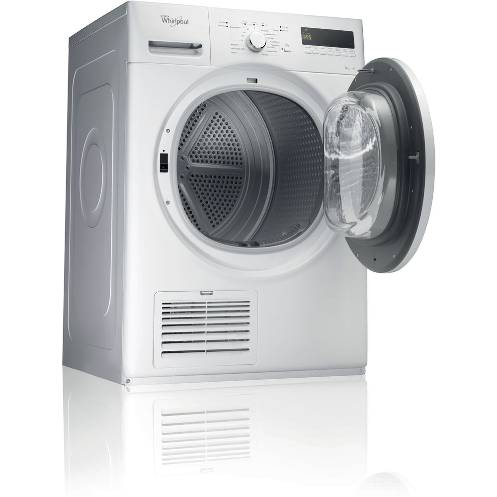 Whirlpool Heat Pump Tumble Dryer Freestanding 9kg Ddlx 90110