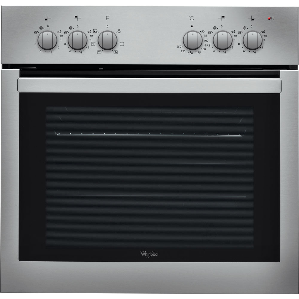 Whirlpool built -in electric oven: inox colour - AKP 729 IX