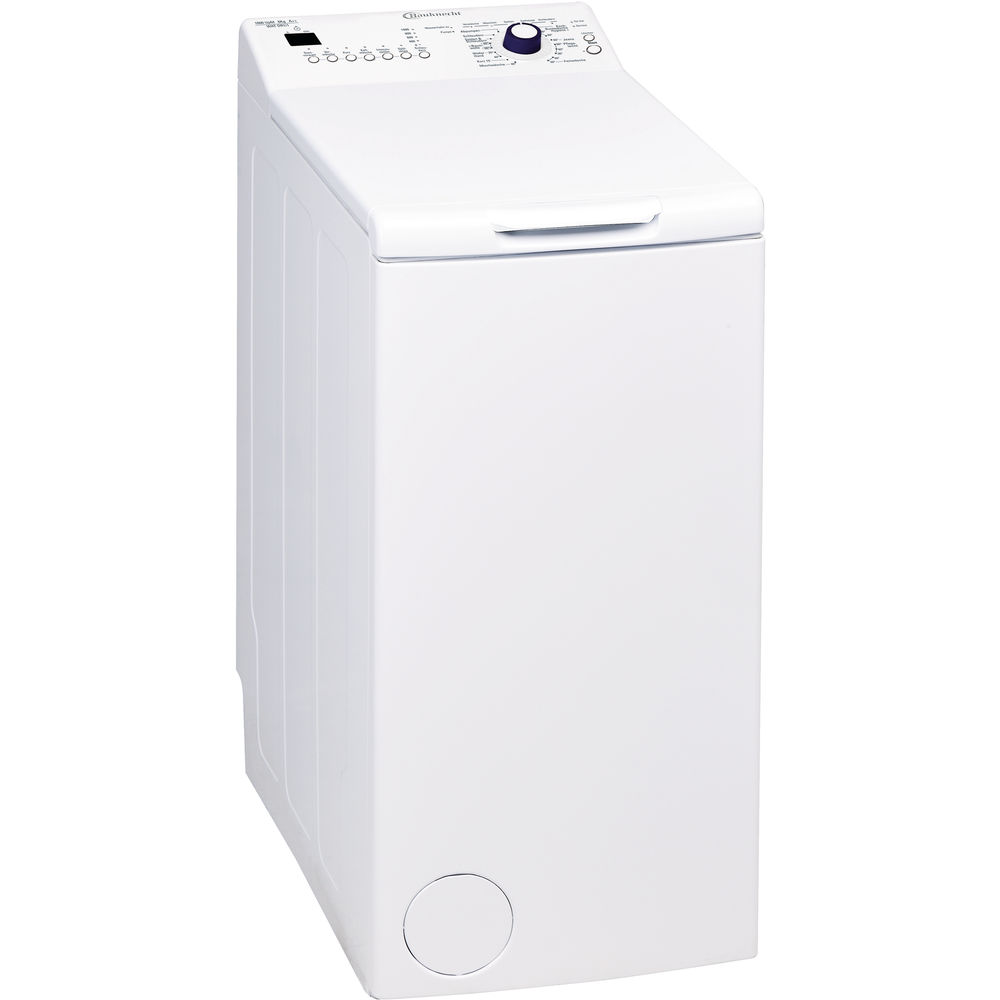 bauknecht toplader waschmaschine 6 kg wat dr1 1. Black Bedroom Furniture Sets. Home Design Ideas