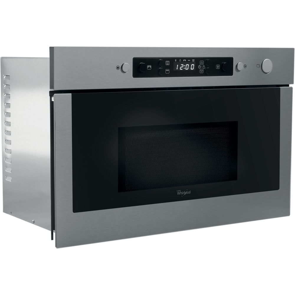 ... Whirlpool built in microwave oven: stainless steel color - AMW 439/IX  ...