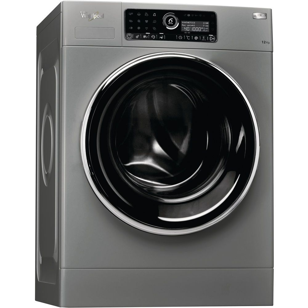 Whirlpool Washing Machine FSCR12433 in Kenya Front Load 12KG Silver Z.Motor