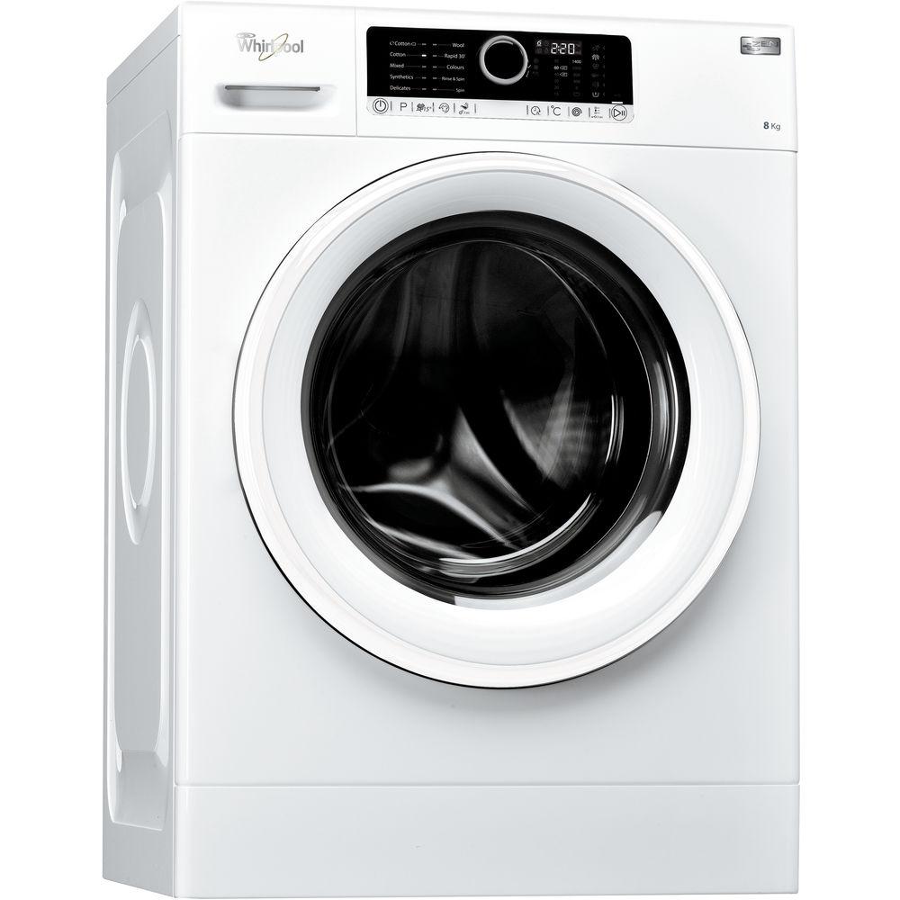 Whirlpool freestanding front loading washing machine: 8kg - FSCR80410