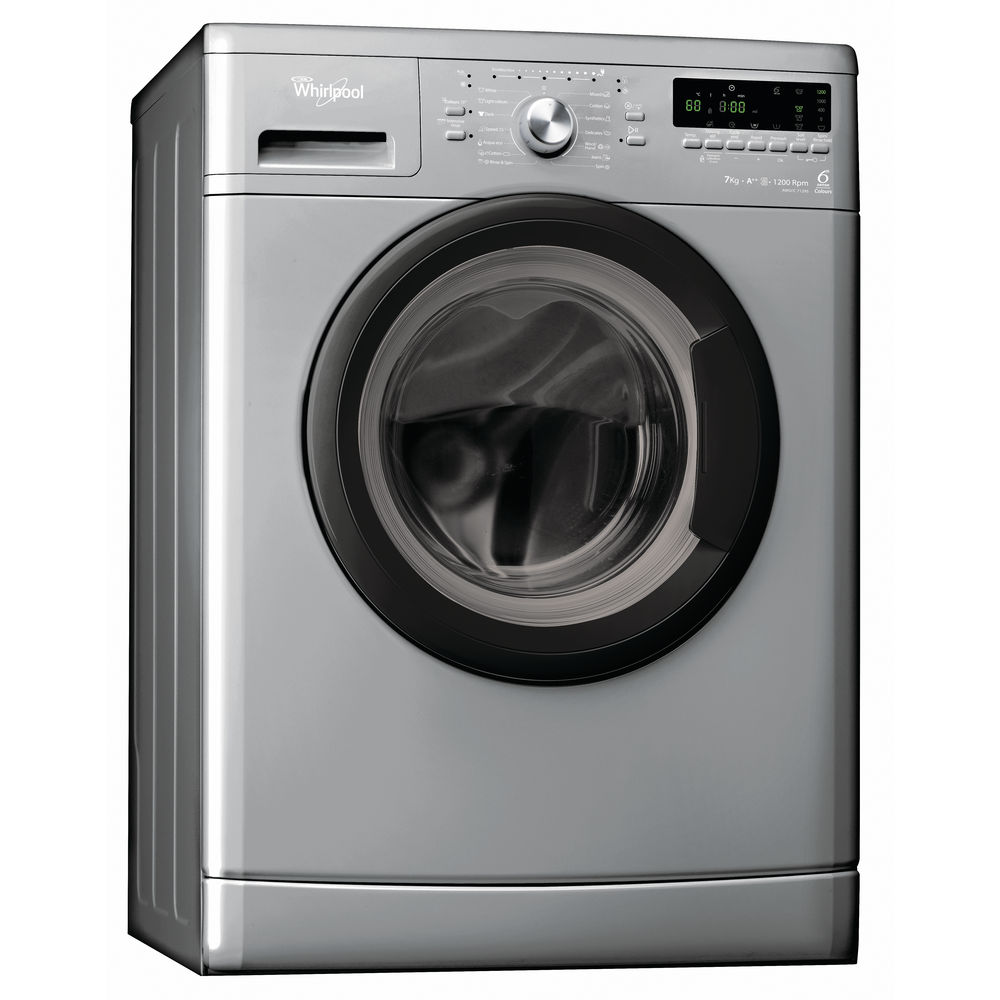 Whirlpool Washing Machine AWO/C 7129S in Kenya Front Load 7KG Silver