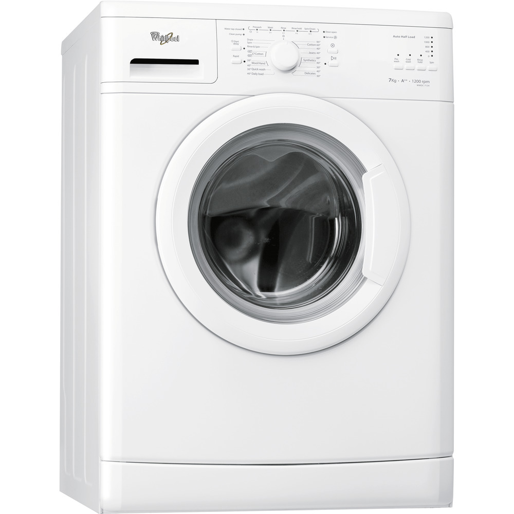 Whirlpool freestanding front loading washing machine: 7kg - WWDC 7124