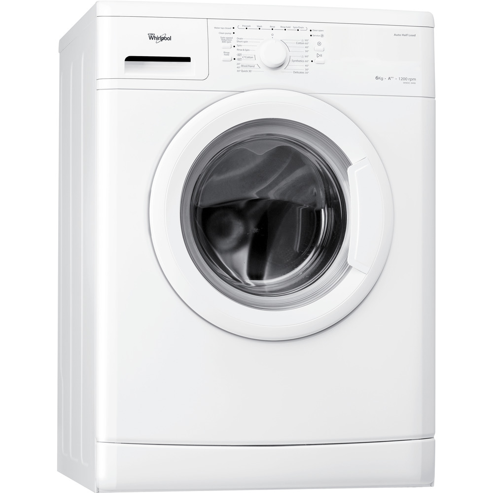 Whirlpool freestanding front loading washing machine: 6kg - WWDC 4406