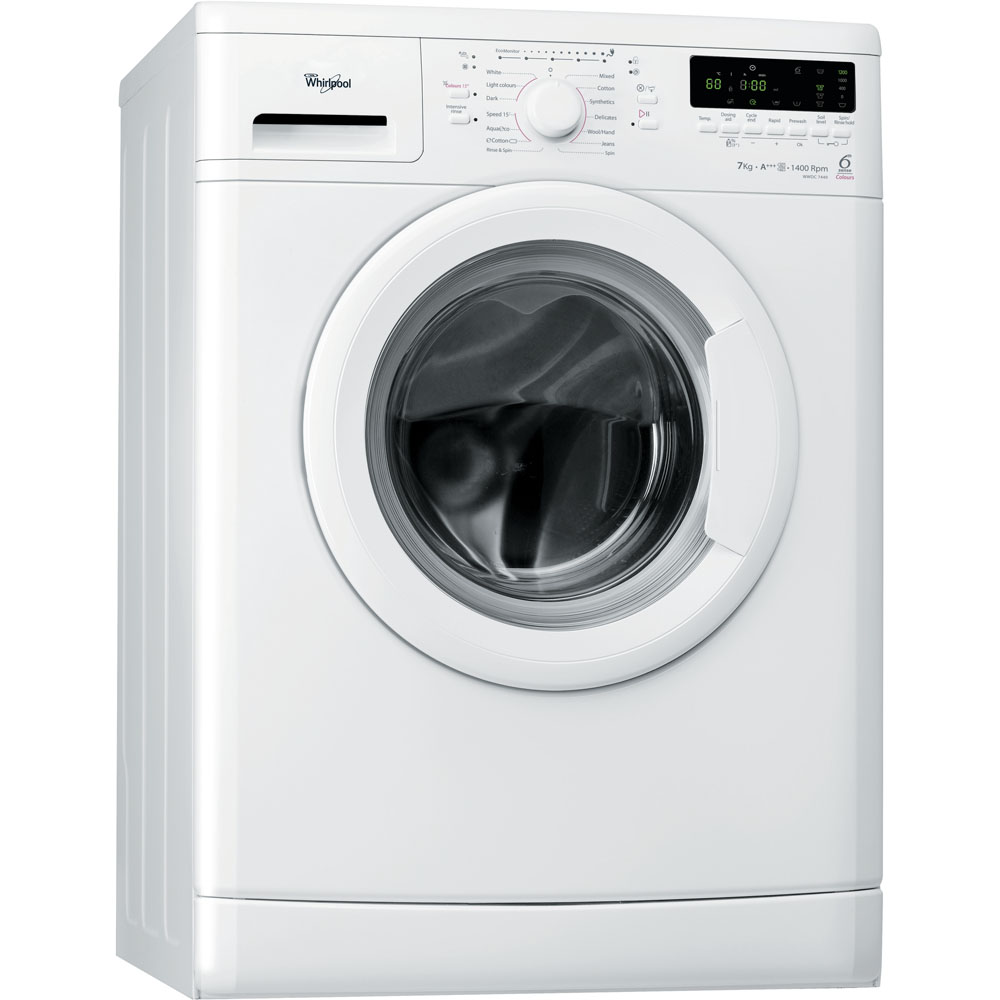 Whirlpool freestanding front loading washing machine: 7kg - WWDC 7440