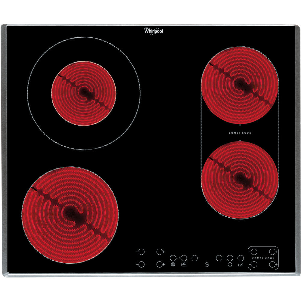 Whirlpool AKT 8700 IX Built-In Ceramic Hob in Black