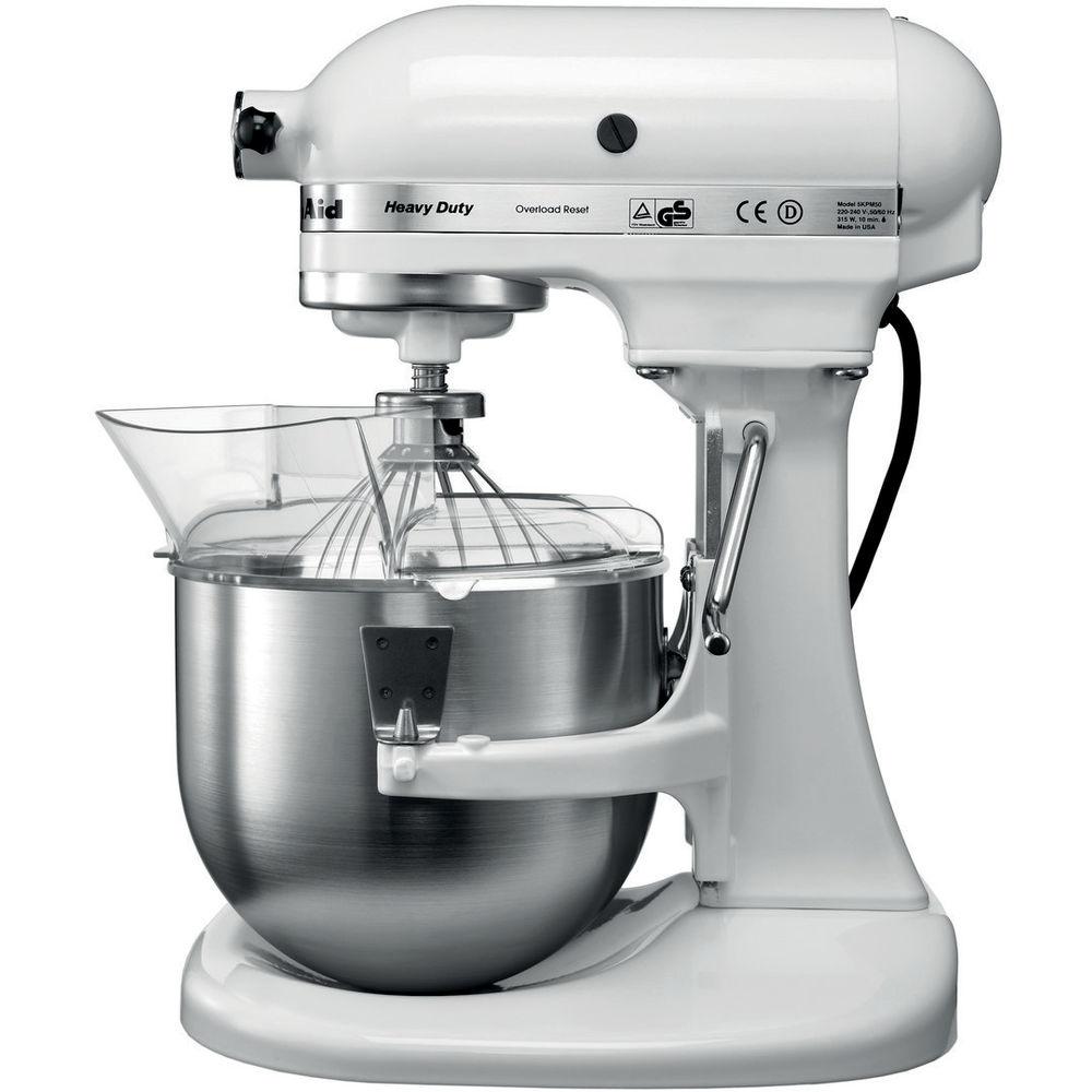 kitchenaid mixer white. 4.8 l kitchenaid heavy duty stand mixer 5kpm5 | official site kitchenaid white