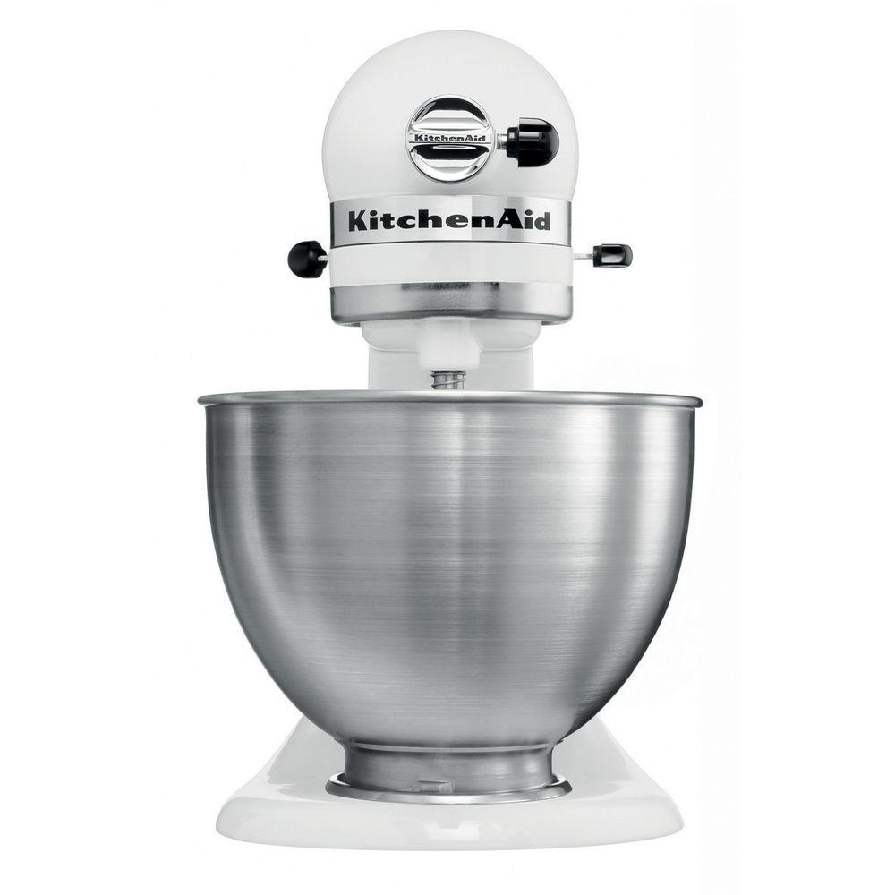 5k45ssewh kitchenaid metallgehäuse küchenmaschine weiß