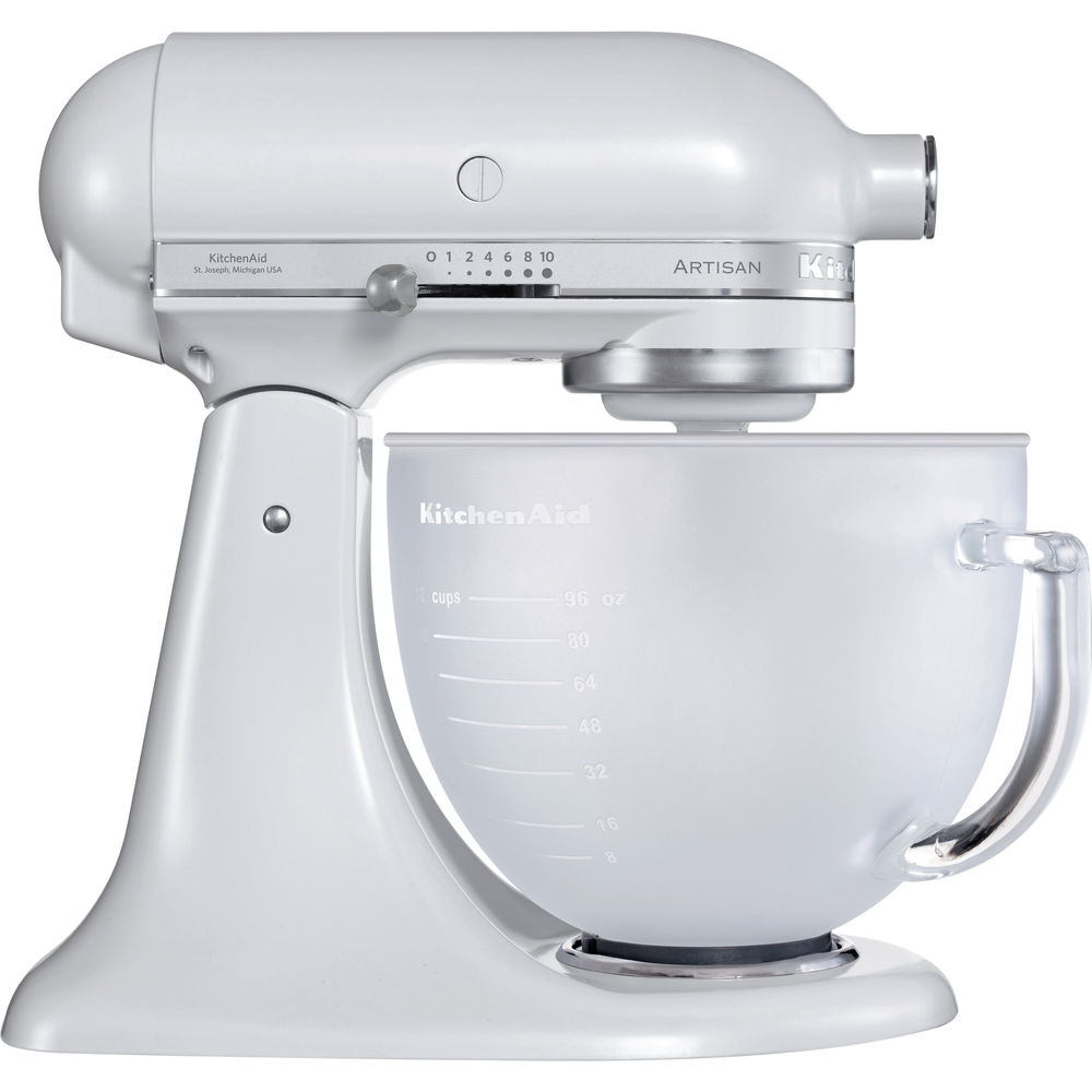 4.8 L KitchenAid ARTISAN Stand Mixer   Frosted Pearl 5KSM156 | Official  KitchenAid Site