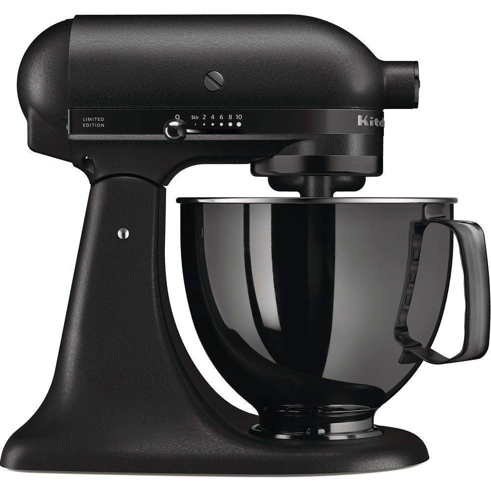 kitchenaid artisan 4 8 l tilt head stand mixer black tie. Black Bedroom Furniture Sets. Home Design Ideas