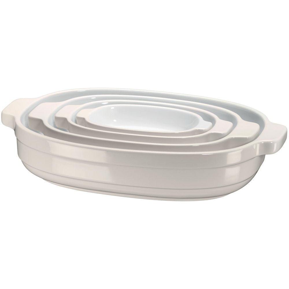 4 pc Ceramic Casserole Nesting Set KBLR04NS | KitchenAid UK