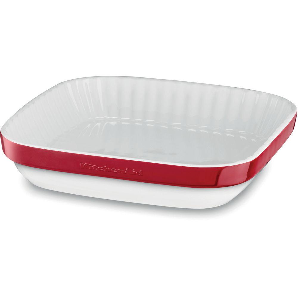 Square Gratin Dish Kblr09ag Kitchenaid Uk