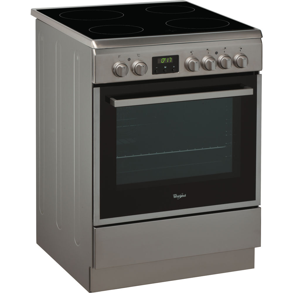 Cooker 60 cm - Electric oven with ceramic hob ACMT 6533/IX/2