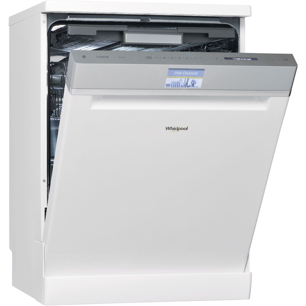 Whirlpool dishwasher: full size, white color - WFF 4O33 DLTG @ UK