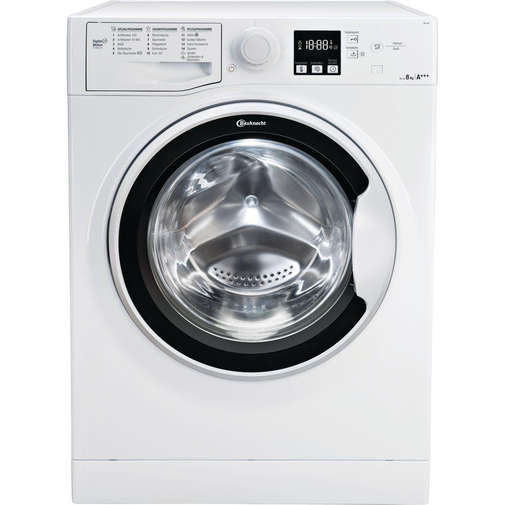 Bauknecht Frontlader Waschmaschine 8 Kg Fwl 8f4 Bauknecht De