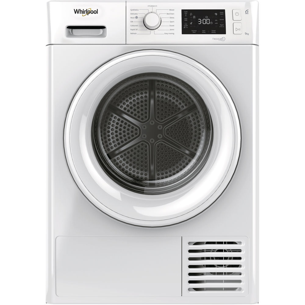 Whirlpool Ireland Welcome To Your Home Liances Provider Heat Pump Tumble Dryer Freestanding 9kg Ft M22 9x2 Uk