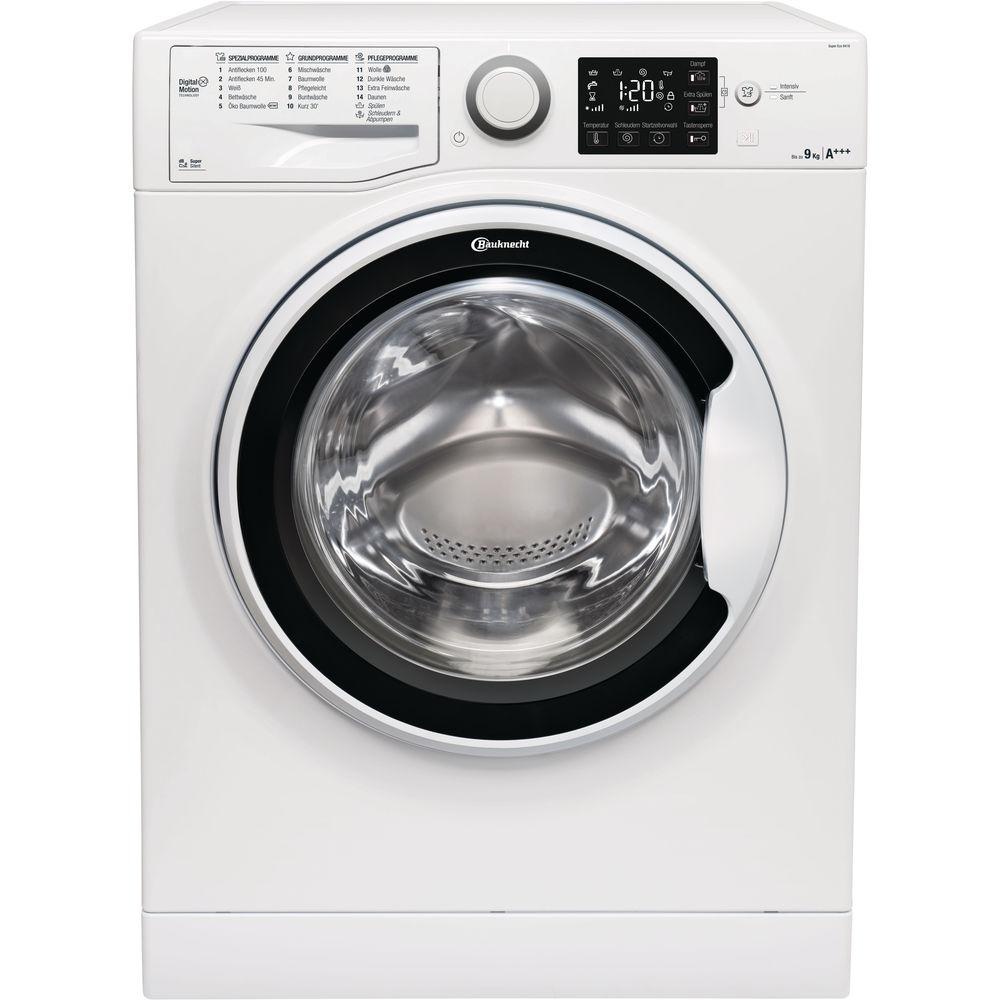 Bauknecht Frontlader-Waschmaschine: 9 kg - Super Eco 9418 ...