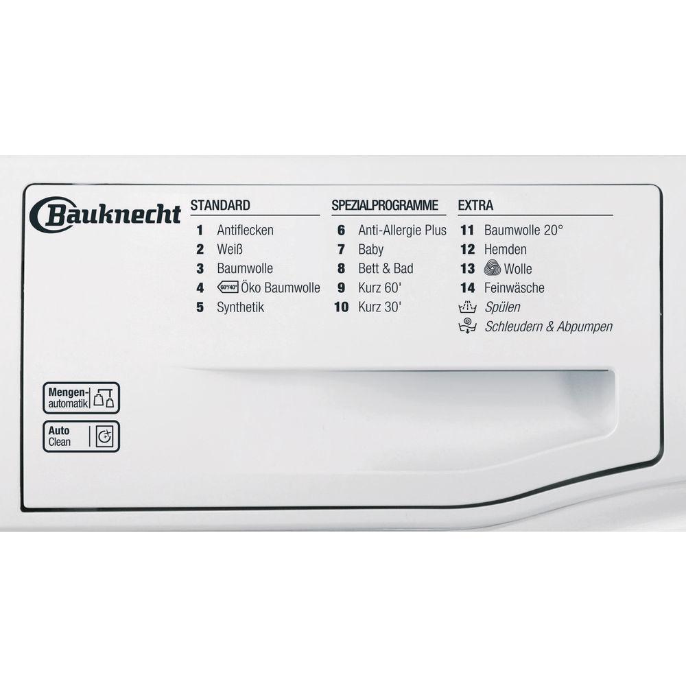 Gut gemocht Bauknecht Frontlader-Waschmaschine: 8 kg - AM 8F4 | Bauknecht.de KM89
