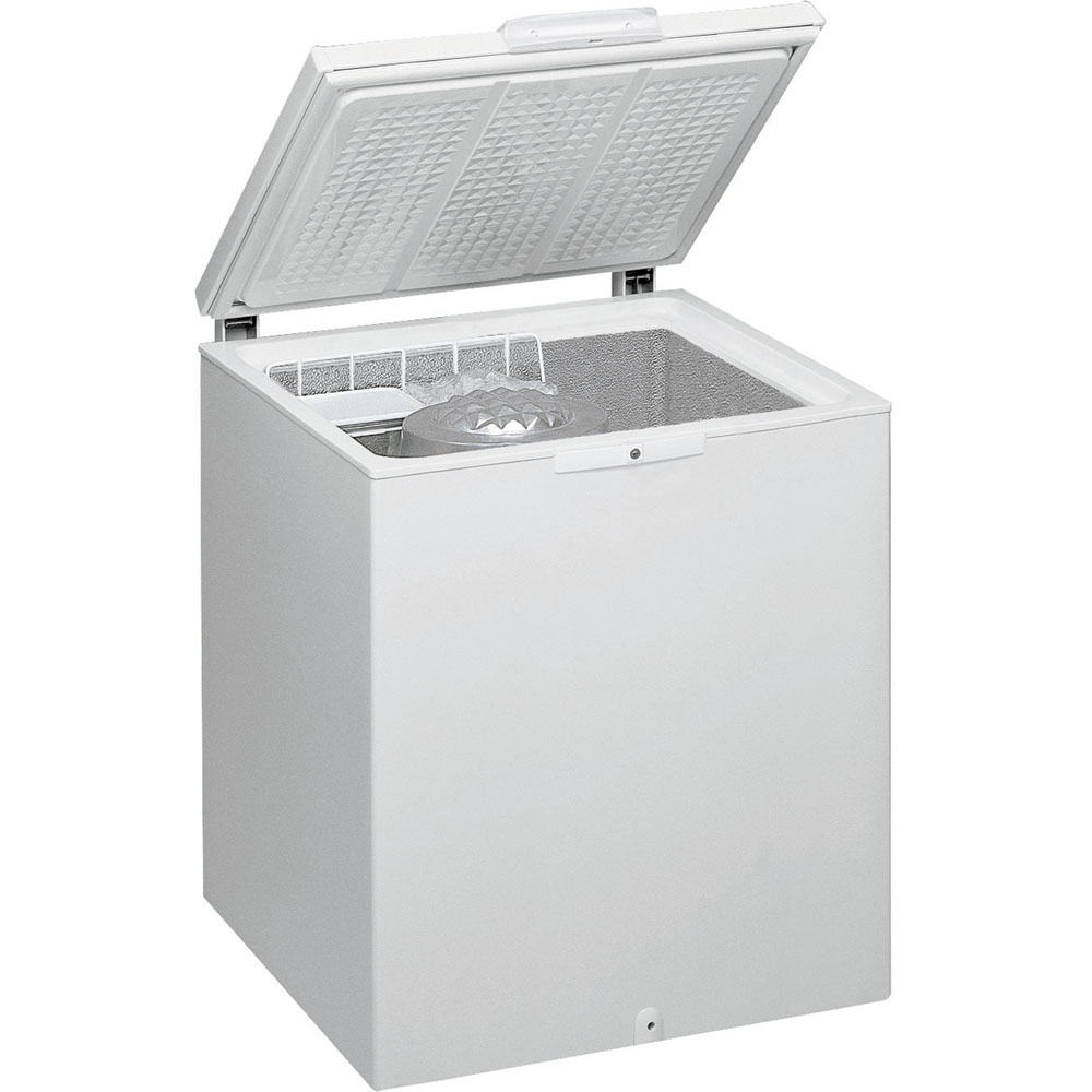 Whirlpool freestanding chest freezer: white color - AFG 070 E-AP