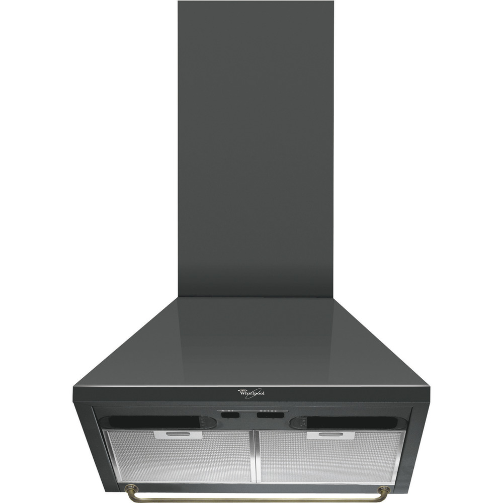 Whirlpool wall mounted cooker hood: 60cm - AKR 551 NA