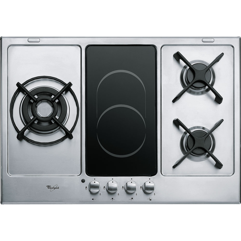 whirlpool south africa welcome to your home appliances provider 75cm gas electric hob akt 759 ix. Black Bedroom Furniture Sets. Home Design Ideas