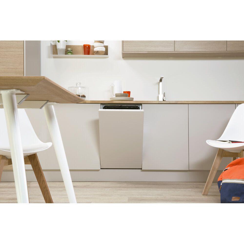 Lave vaisselle int grable indesit gain de place 45cm - Lave linge sechant gain de place ...