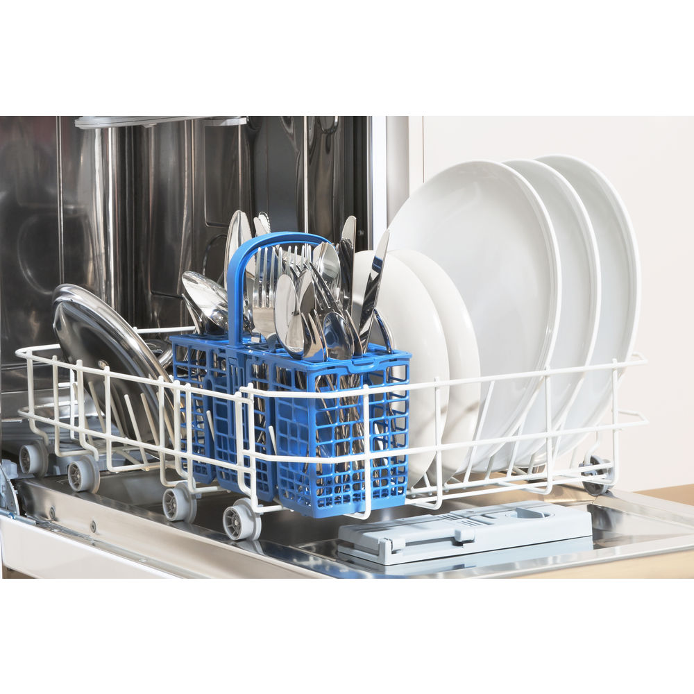 Indesit Fast Eco Cycle DSR 57B1 Dishwasher in White