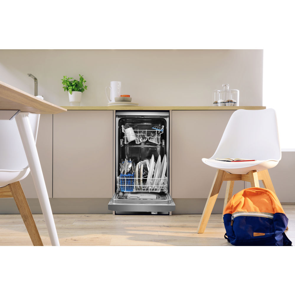 Indesit Dsr 26b1 S Mytime Dishwasher In Silver Dsr 26b1 S Uk