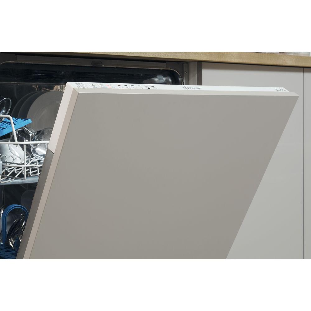 Lavastoviglie da incasso indesit grande capienza colore - Porta per lavastoviglie da incasso ...