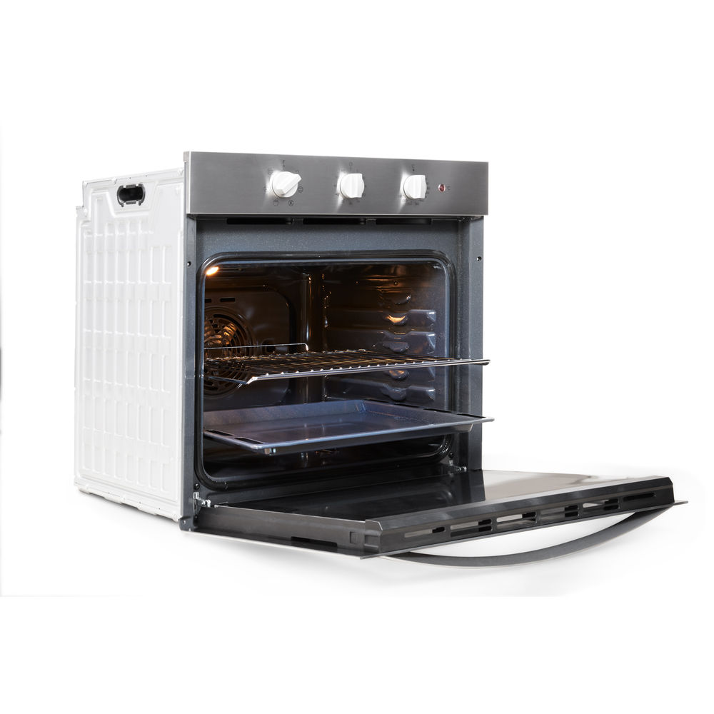 Indesit Aria DFW 5530 IX UK Electric Single Built-in Oven in Stainless Steel