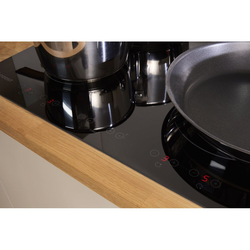 Indesit Aria VID 641 B C Induction Hob in Black
