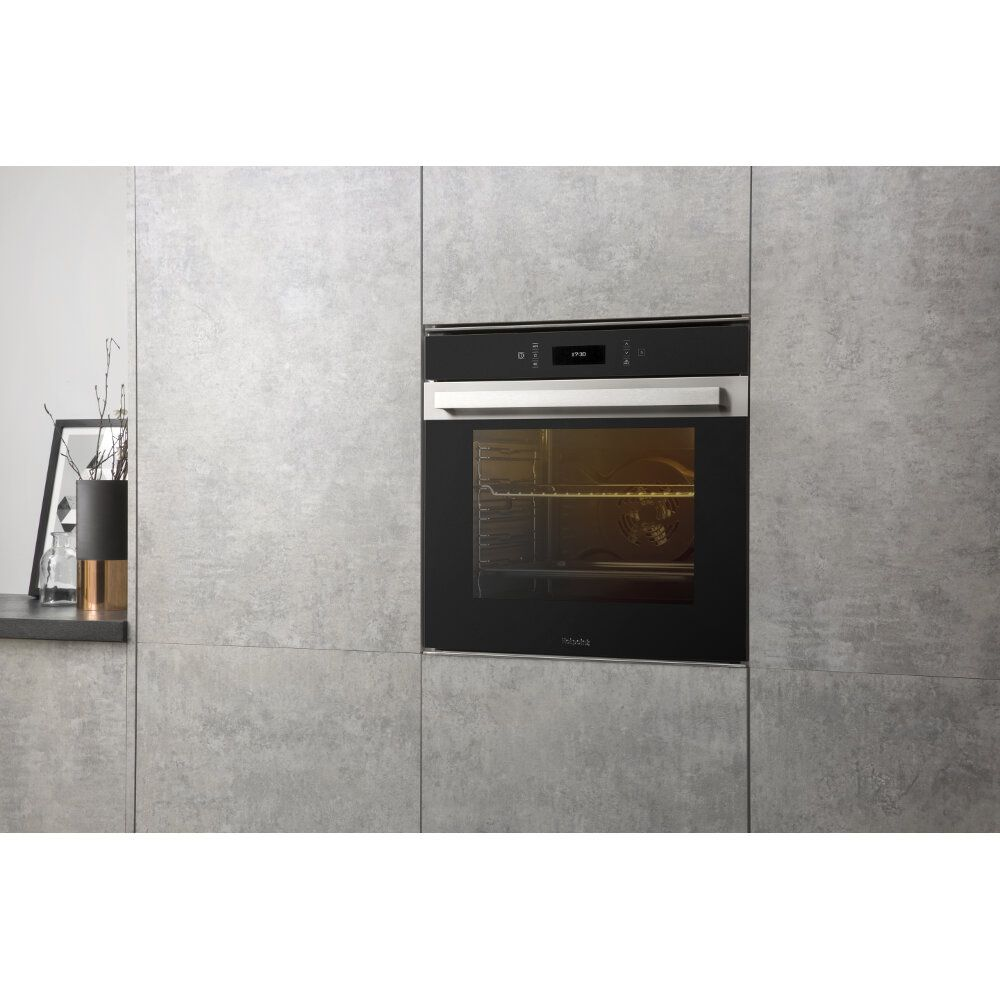 4fb0a46433a7 Hotpoint Class 9 SI9 891 SC IX Electric Single Built-in Oven - Stainless  Steel