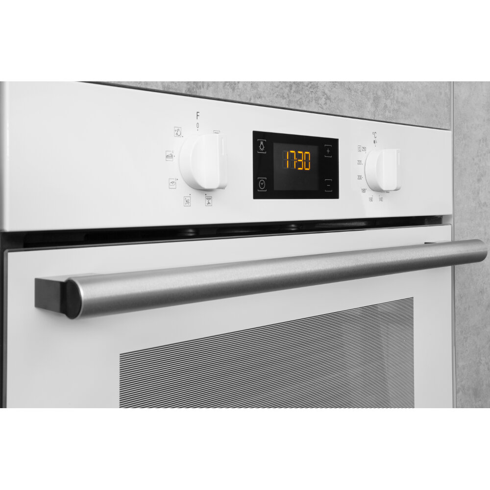 Hotpoint built in electric oven: white, self cleaning - SA2 540 H WH ...