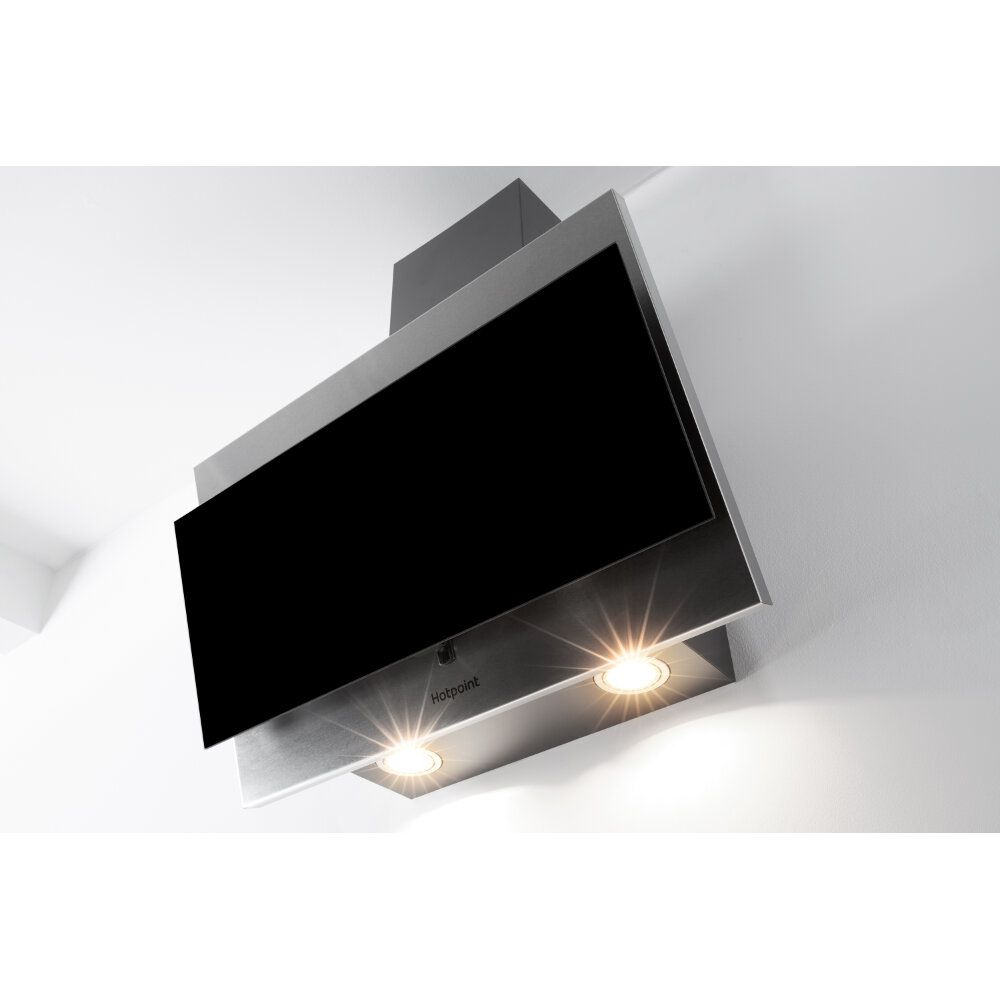 Hotpoint Wall Mounted Cooker Hood Phvp 64f Al K Wiring A Uk Built In Black