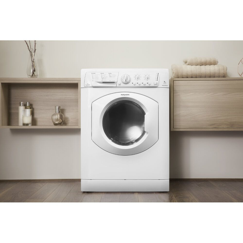 Hotpoint freestanding washer dryer: 7kg - WDL 540 P (UK) C   Hotpoint