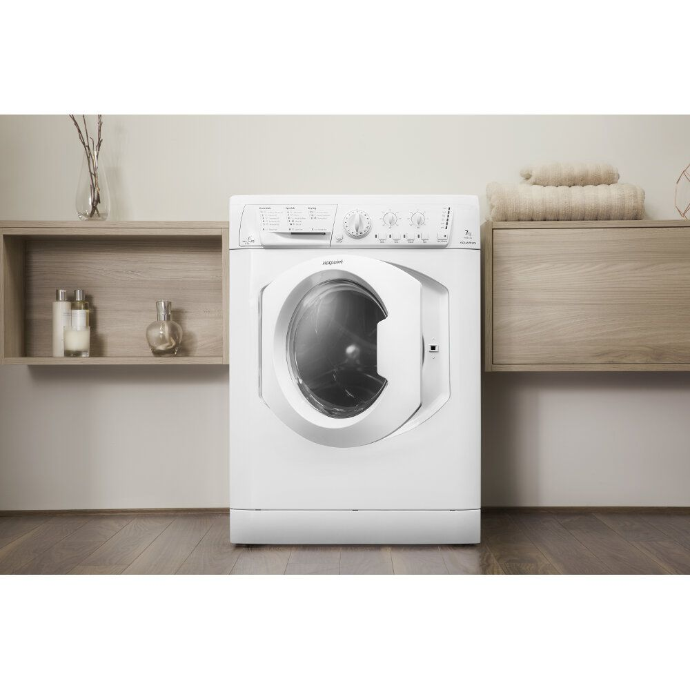Hotpoint freestanding washer dryer: 7kg - WDL 540 P (UK) C