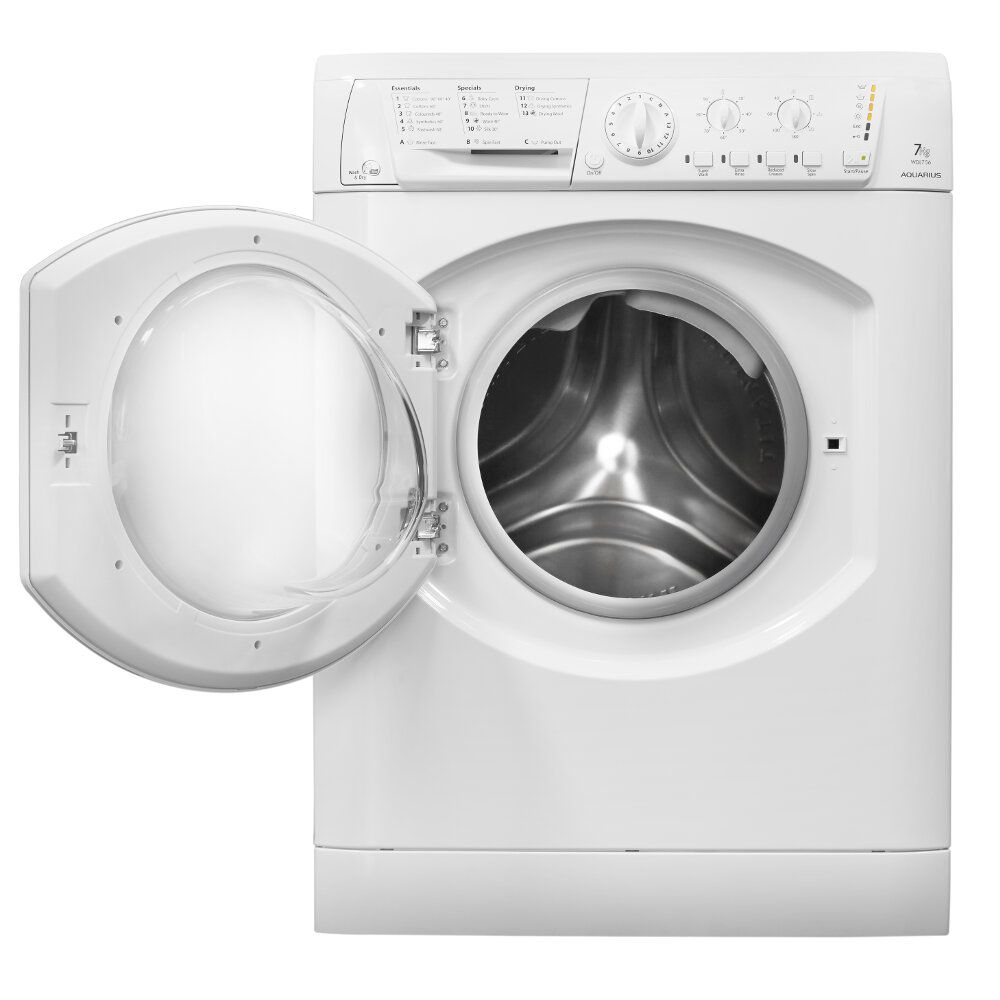 Hotpoint freestanding washer dryer: 7kg - WDL 540 P (UK) C | Hotpoint