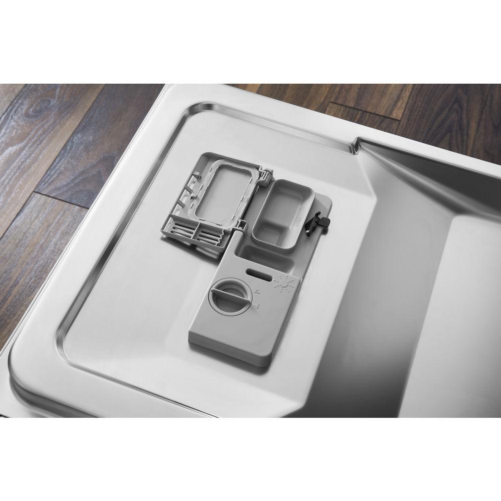 Посудомоечная машина Hotpoint: узкая, белый цвет