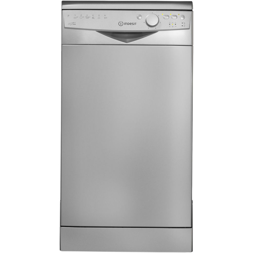 Indesit DSR 26B1 S MyTime Dishwasher in Silver