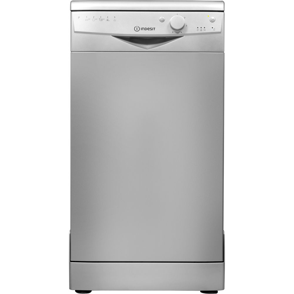 Indesit DSR 15B1 S Ecotime Dishwasher in Silver