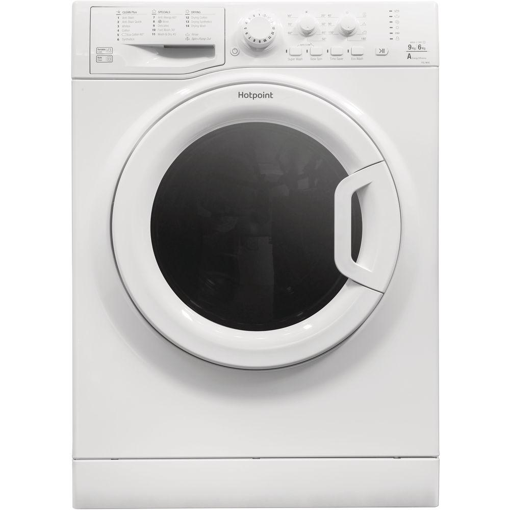 Hotpoint Futura FDL 9640P washer dryer - white