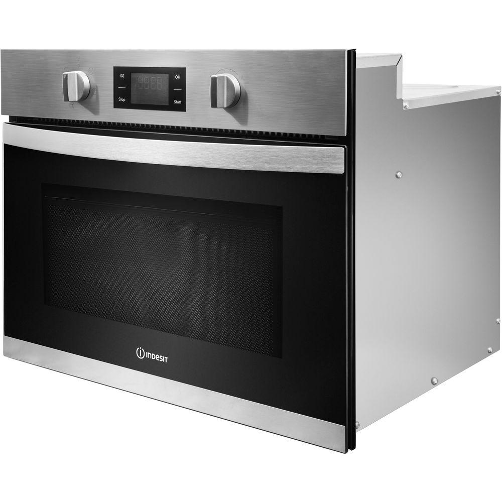indesit einbau mikrowelle edelstahl mwi 3445 ix. Black Bedroom Furniture Sets. Home Design Ideas